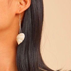 Boho Seashell Dangle Earrings